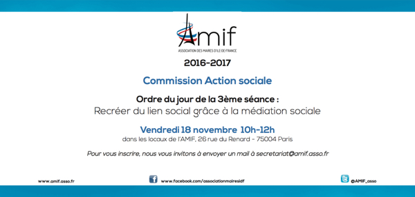Commission Action sociale - Séance 3 - Vendredi 18 novembre 10h
