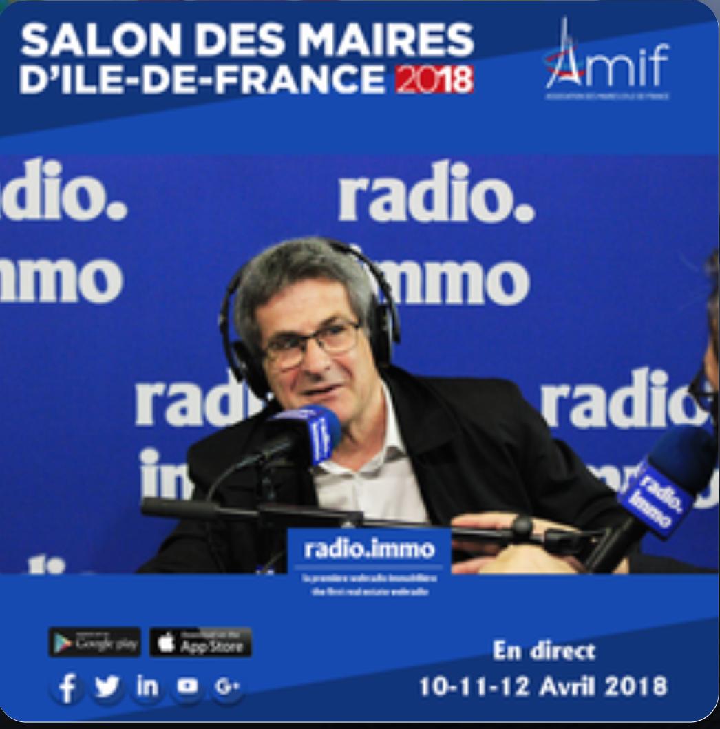 BernardFABREMairedeBoissettesInterviewRadioImmo
