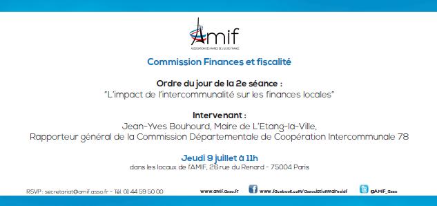 Commission Finances - Séance 2 - Jeudi 9 juillet 11h