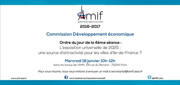 Commission Développement économique - Séance 4 - Mercredi 18 janvier 10h