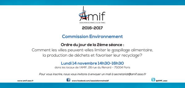 Commission Environnement - Séance 2 - Lundi 14 novembre 14h30