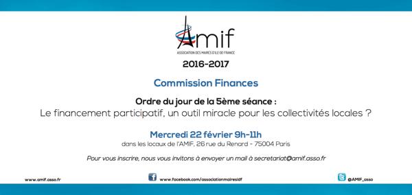 Commission Finances - Séance 5 - Mercredi 22 février 9h30