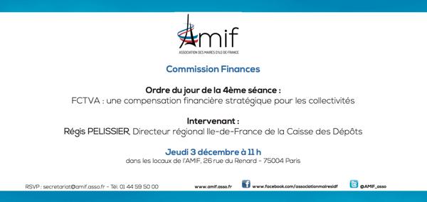 Commission Finances - Séance 4 - Jeudi 3 décembre 11h