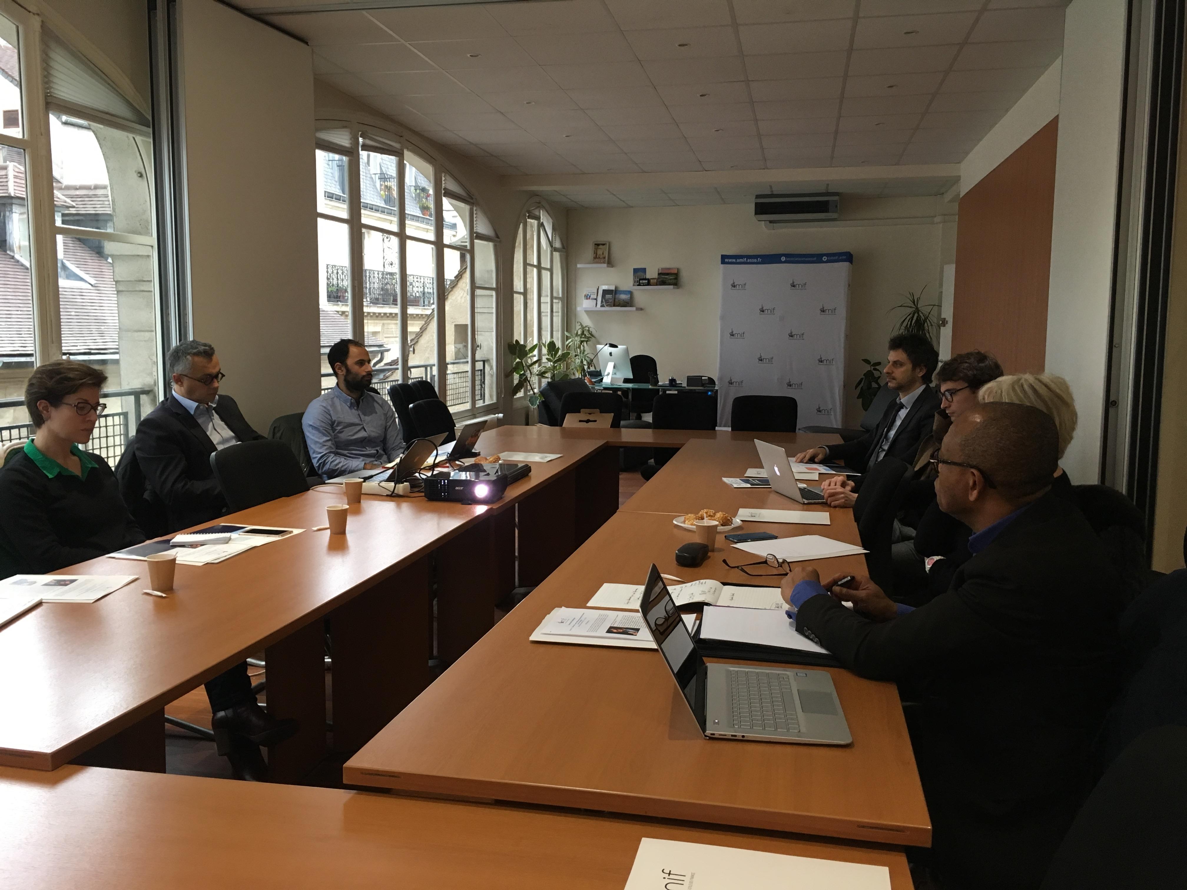 Commission Numérique - Séance 2 - Mercredi 6 décembre 2017 - 10h-12h
