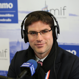 SMIDF 2017 : Vincent Jeanbrun en direct sur Radio Immo
