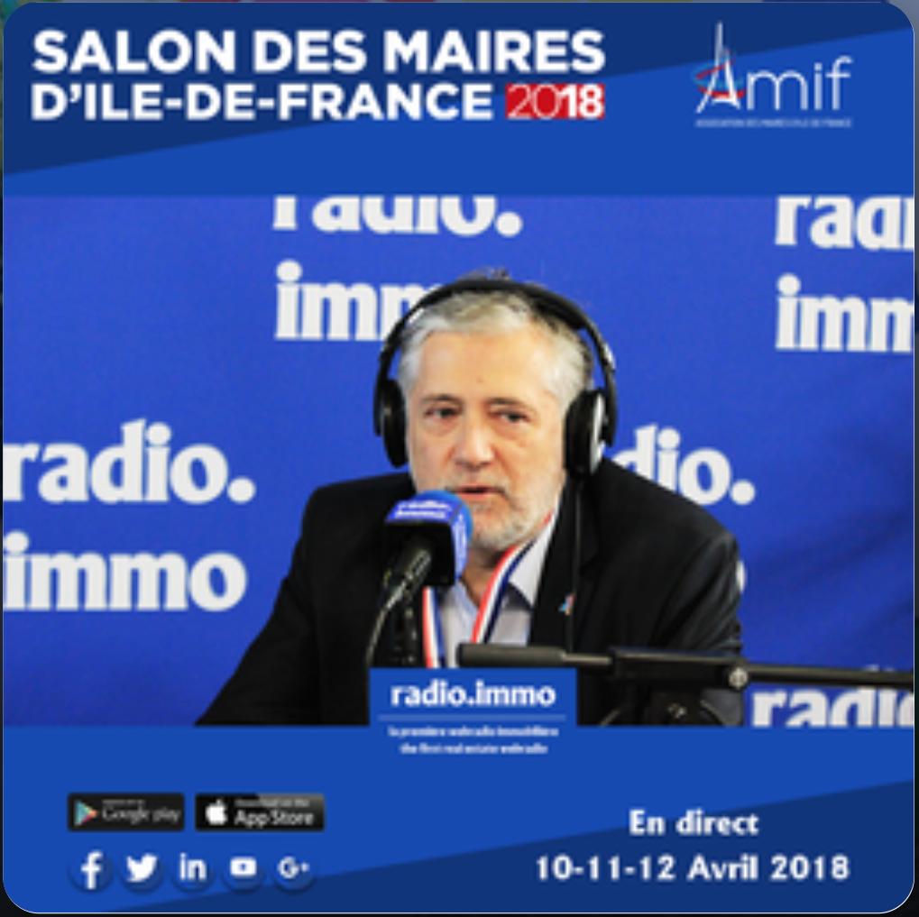 LaurentRIVOIREMairedeNoisyleSecInterviewRadioImmo