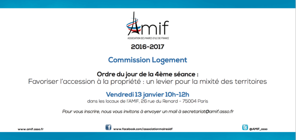 Commission Logement - Séance 4 - Vendredi 13 janvier 10h