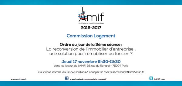 Commission Logement - Séance 3 - Jeudi 17 novembre 9h30