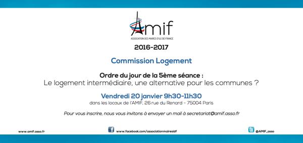 Commission Logement - Séance 5 - Vendredi 20 janvier 9h30
