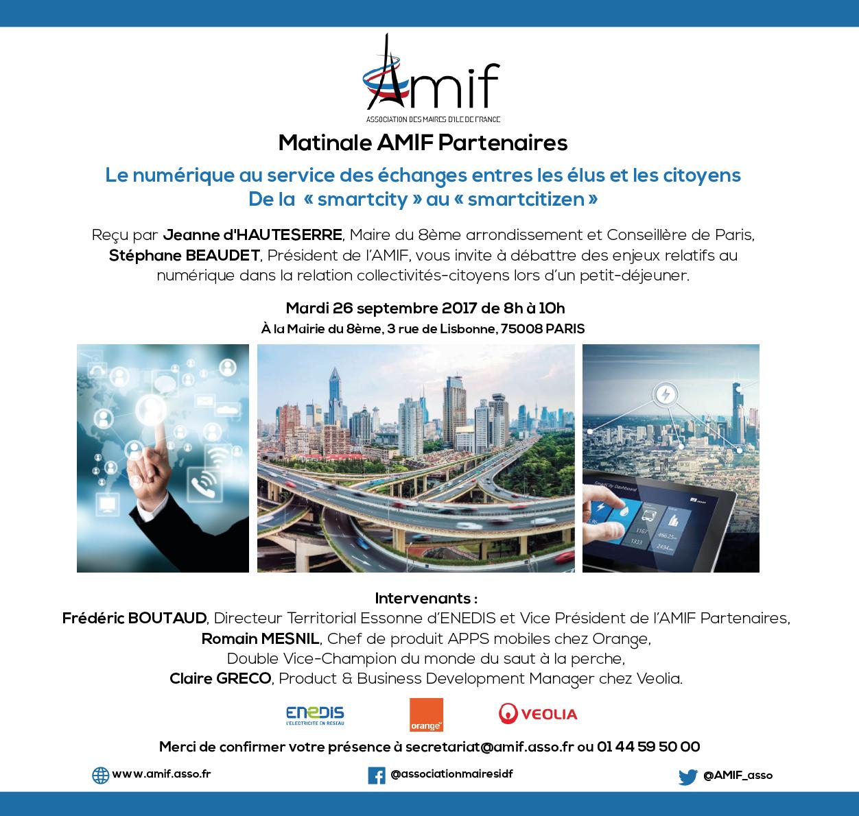 #SaveTheDate : L'AMIF vous invite à sa matinale dédiée au numérique