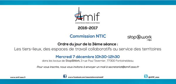 Commission NTIC - Séance 3 - Mercredi 7 décembre 10h30