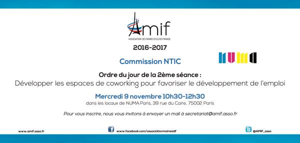 Commission NTIC - Séance 2 - Mercredi 9 novembre 10h30