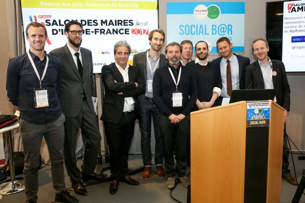 Les startup récompensées au SMIDF