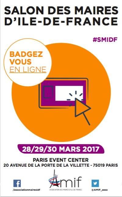 #SMIDF : Badgez-vous et rendez-vous les 28, 29 et 30 mars au Paris Event Center !
