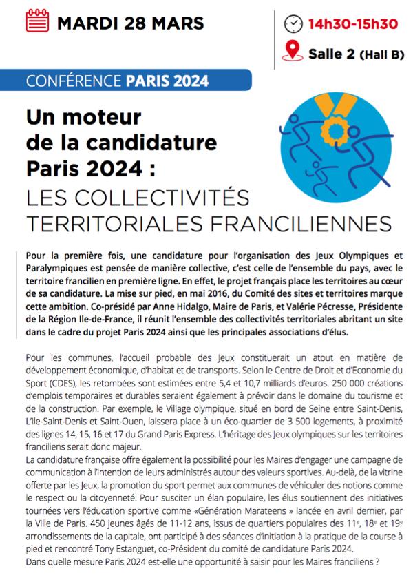 #SMIDF : Inscrivez-vous à la Conférence JO 2024