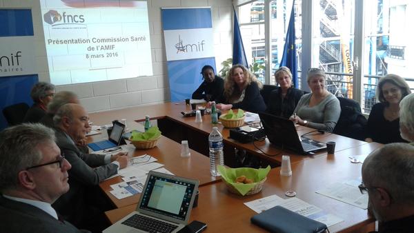 Commission Santé - Séance 5 - Mardi 8 mars 9h30