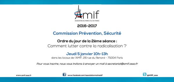 Commission Prévention, Sécurité - Séance 2 - Jeudi 5 janvier 10h