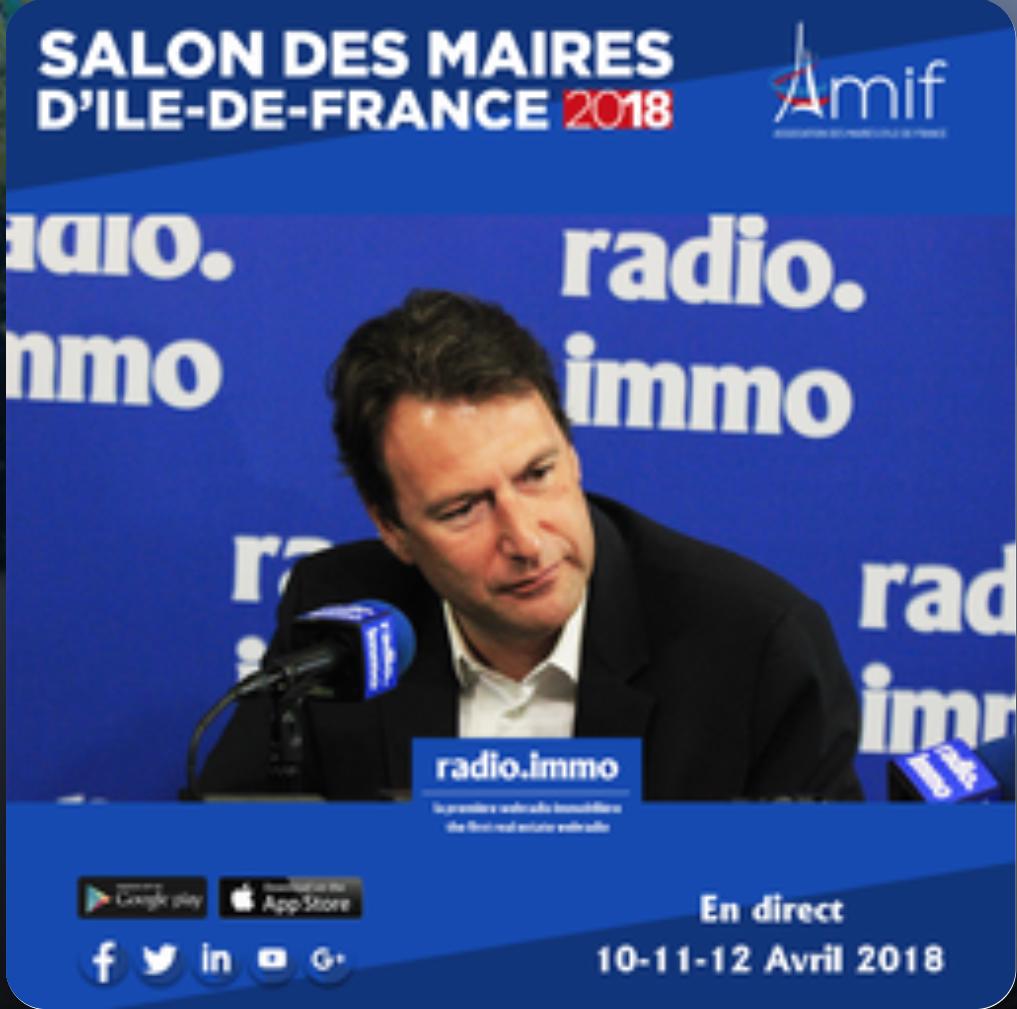 SylvainBERRIOSMairedeSaintMaurdesFossesInterviewRadioImmo