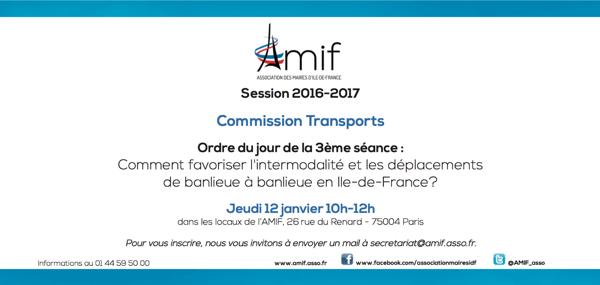 Commission Transports - Séance 3 - Jeudi 12 janvier 10h