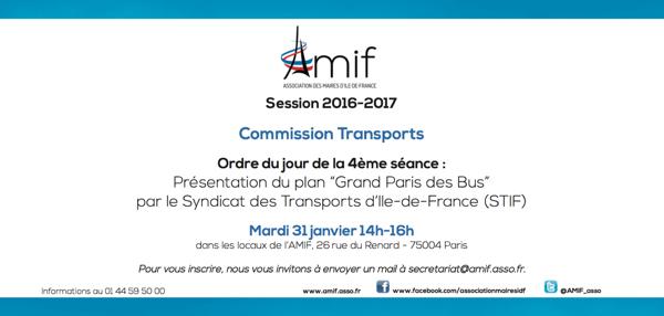 Commission Transports - Séance 4 - Mardi 31 janvier 14h