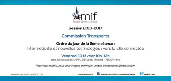 Commission Transport - Séance 5 - Vendredi 10 février 10h