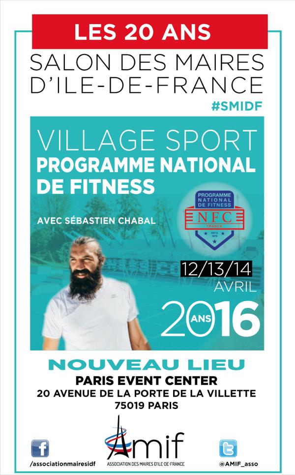 Les collectivités, vecteurs de bien-être et de santé avec le Programme national de fitness présenté par Sébastien Chabal