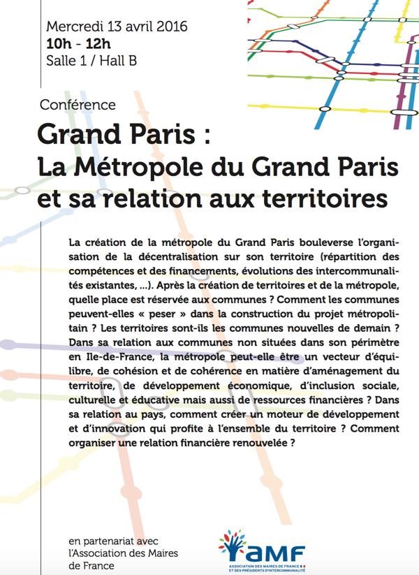 Conférence Grand Paris