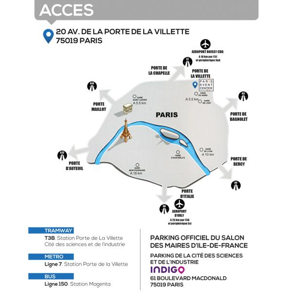L'AMIF vous donne rendez-vous au Paris Event Center, Porte de la Villette