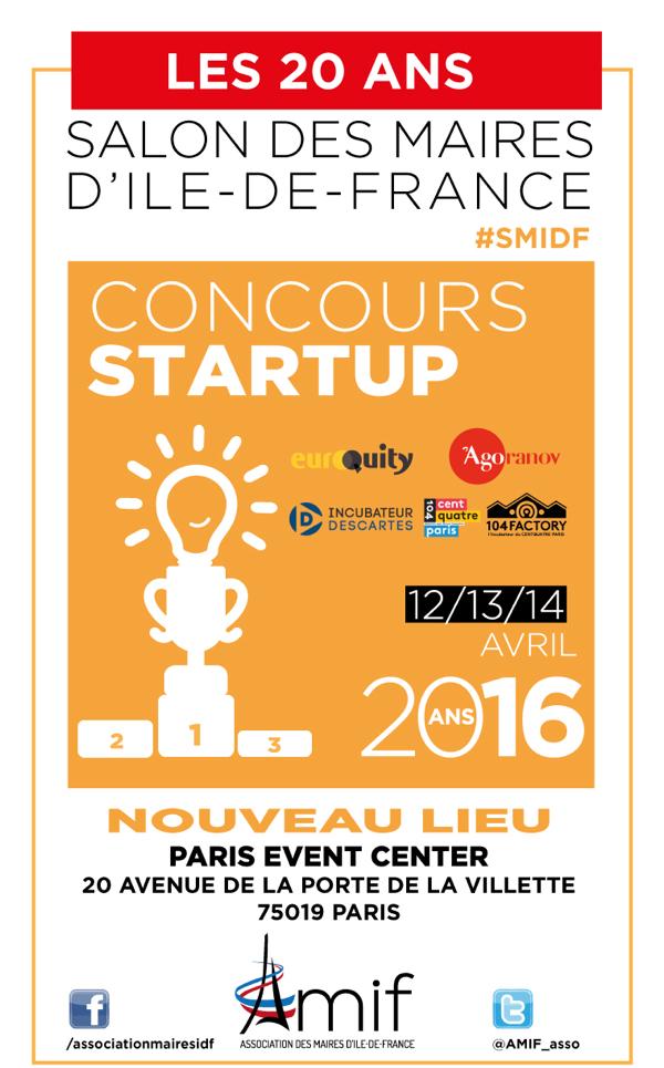 L'AMIF organise un concours de start-up lors du Salon des Maires d'Ile-de-France