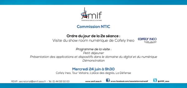Commission NTIC - Séance 2 - Jeudi 9 juillet