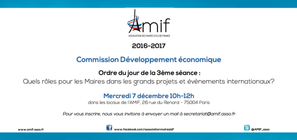 Commission Développement économique - Séance 3 - Mercredi 7 décembre 10h