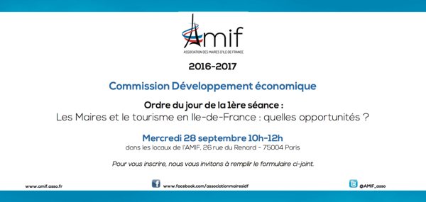 Développement économique - Séance 1 - Mercredi 28 septembre 10h