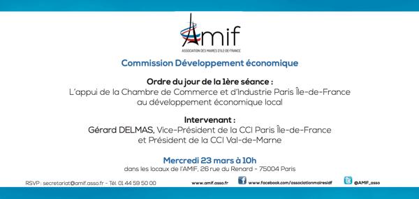 Commission Développement économique - Séance 1 - Mercredi 23 mars 10h