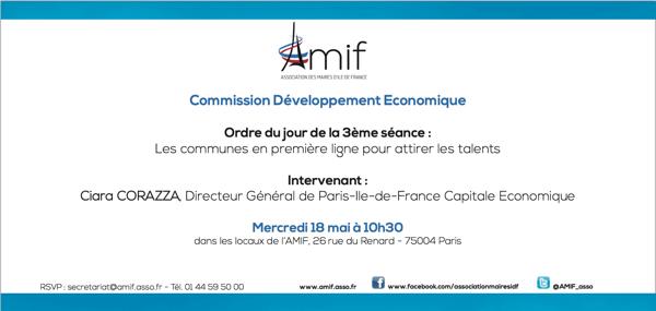 Commission Développement économique - Mercredi 18 mai 10h30