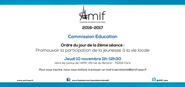 Commission Education - Séance 2 - 10 novembre 2016 11h
