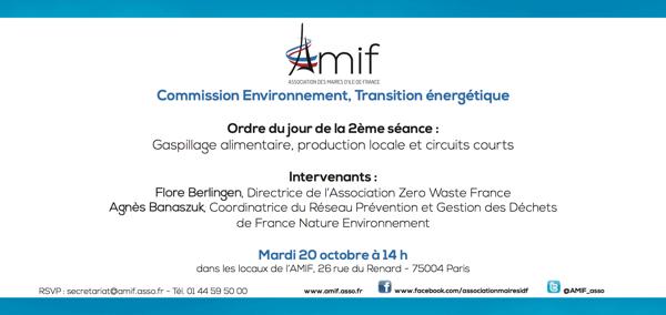 Commission Environnement - Séance 2 - Mardi 20 octobre 14h
