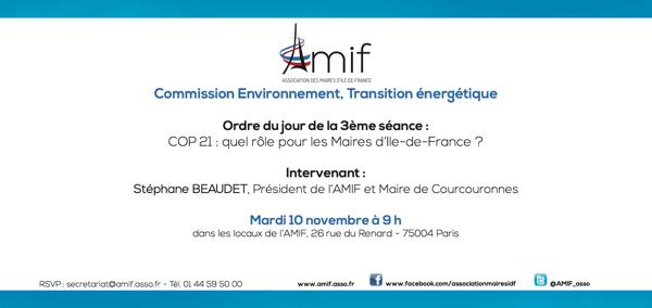 Commission Environnement - Séance 3 - Mardi 10 novembre 9h