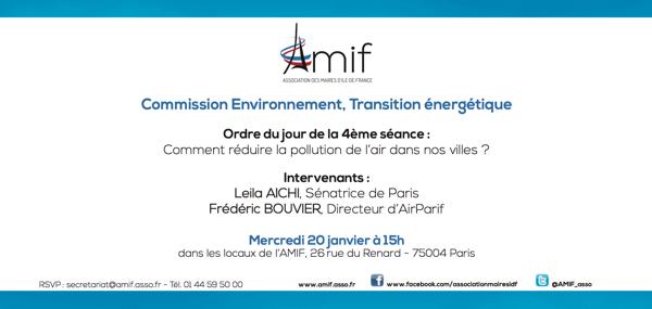 Commission Environnement - Séance 4 - Mercredi 20 janvier 15h