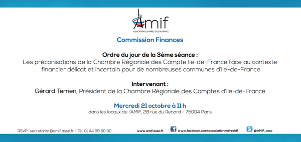 Commission Finances - Séance 3 - Mercredi 21 octobre 11h