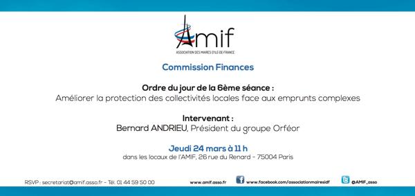 Commission Finances - Séance 6 - Jeudi 24 mars 11h