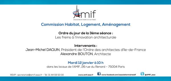 Commission Habitat - Séance 3 - Mardi 12 janvier 10h