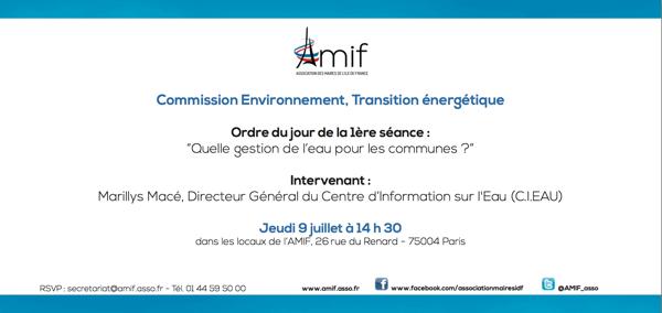 Commission Environnement - Séance 1 - Jeudi 9 juillet 14h30
