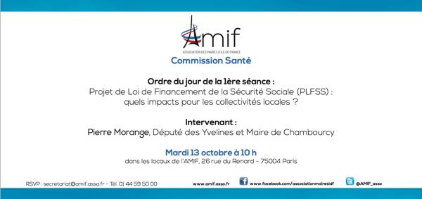 Commission Santé - Séance 1 - Mardi 13 octobre 10h