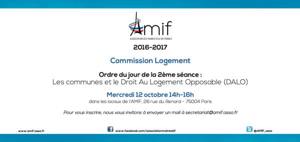 Commission Logement - Séance 2 - Mercredi 12 octobre 14h
