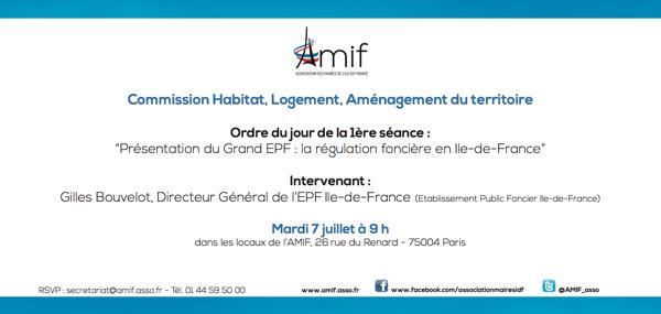 Commission Habitat - Séance 1 - Mardi 7 juillet 9h
