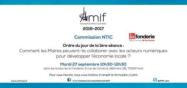 Commission NTIC - Séance 1 - Mardi 27 septembre 10h30