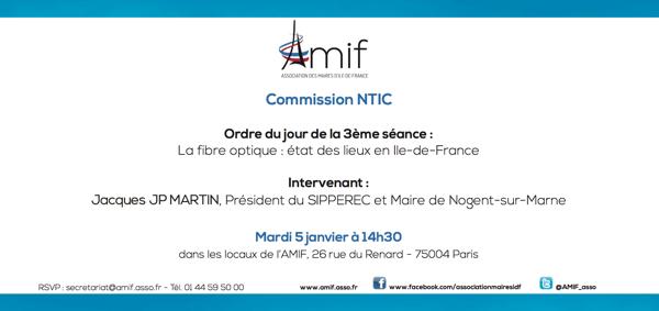Commission NTIC - Séance 3 - Mardi 5 janvier 14h30