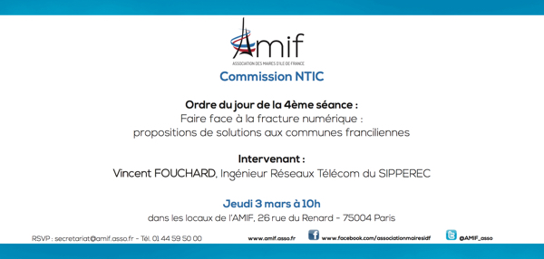Commission NTIC - Séance 4 - Jeudi 3 mars 10h