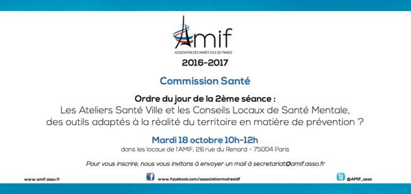 Commission Santé - Séance 2 - Mardi 18 octobre 10h