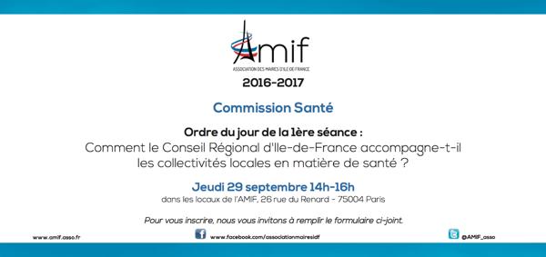Commission Santé - Séance 1 - Jeudi 29 septembre 14h